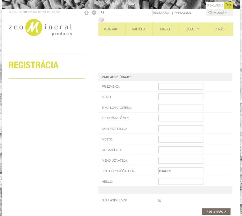 registracia